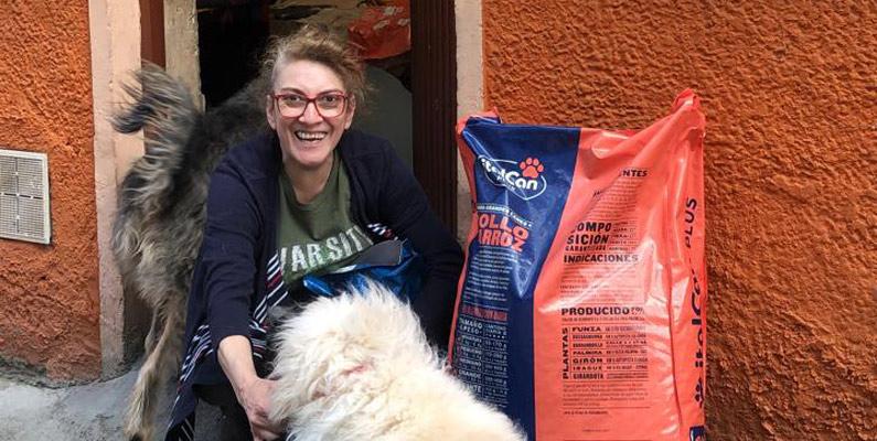 """""""Seguimos recolectando ayudas para alimentar a gatos y perros sin hogar durante la cuarentena"""": concejal animalista Andrea Padilla"""